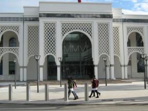 ali-bongo-à-l'exposition--la-méditerranée-et-l'art-moderne--de-rabat