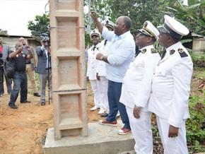 ali-bongo-inaugure-l'électrification-de-28-villages-près-de-libreville