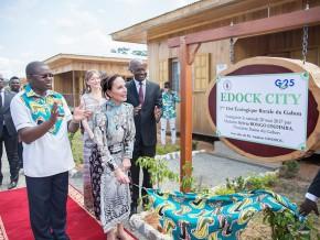 sylvia-bongo-a-inauguré-edock-city-la-première-cité-rurale-écologique-du-gabon