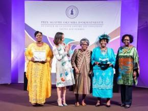 sylvia-bongo-ondimba-lance-le-prix-agathe-okoumba-d'okwatsegue-de-lutte-contre-les-violences-faites-aux-femmes