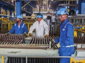 les-ventes-d'alliages-de-manganèse-font-bondir-le-chiffre-d'affaires-du-complexe-métallurgique-de-moanda