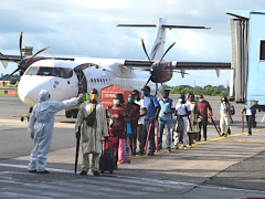 l-aeroport-international-de-libreville-recompense-pour-sa-bonne-gestion-de-la-securite-sanitaire