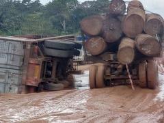 le-mauvais-etat-de-la-route-du-gabon-entrave-l-activite-forestiere