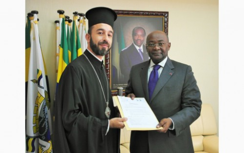 L'Eglise orthodoxe officiellement reconnue au Gabon