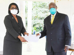 le-gabon-present-a-kampala-a-l-investiture-du-president-de-la-republique-d-ouganda