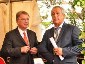 les-sociétés-egis-et-aéroport-de-marseille-honorées-pour-leurs-actions-dans-le-développement-de-l'aéroport-de-libreville