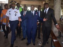 en-visite-a-l-universite-omar-bongo-julien-nkoghe-bekale-promet-de-reaffirmer-la-puissance-de-l-etat